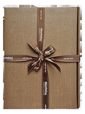 blaise duboux emballage cadeau 3 bouteilles vendu l achat de 3 bouteilles de vin. Black Bedroom Furniture Sets. Home Design Ideas