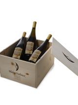 caisse en bois pour 6 bouteilles de vin