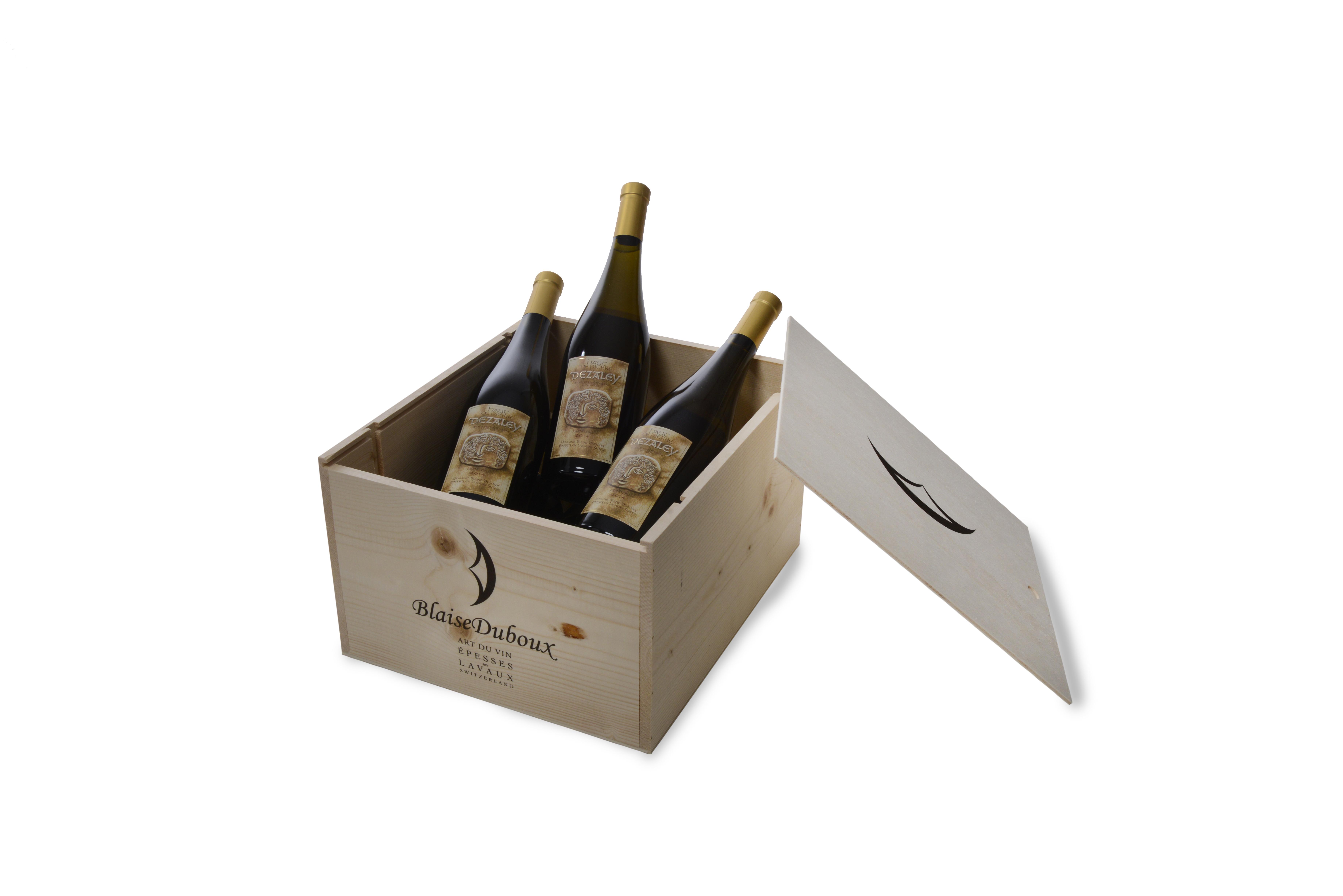 blaise duboux emballage cadeau caisse en bois suisse personnalis e et s rigraphi e pour 6. Black Bedroom Furniture Sets. Home Design Ideas